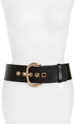 Frye Wide Leather Belt