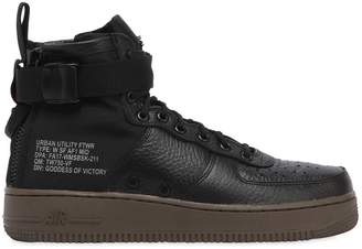 Nike Sf Air Force 1 Mid Top Sneakers