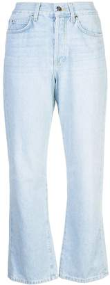 Eve Denim cropped bootcut jeans