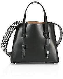 Alaia Women's Mini Mina Leather Star Strap Satchel