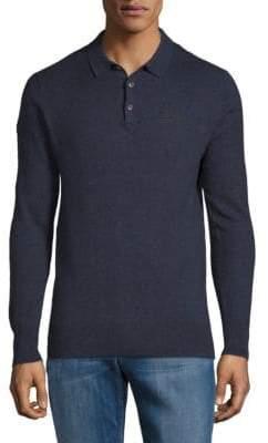 Superdry Orange Label Cotton Cashmere Polo