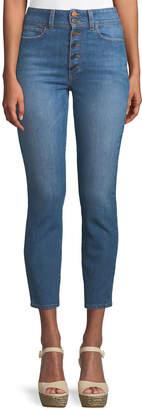 Alice + Olivia Ao.La By Alice+Olivia Good High-Rise Ankle Skinny Jeans