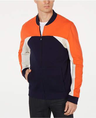 Alfani Men's Colorblocked Bomber Jacket, Created for Macy's