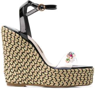 Sophia Webster Dina Gem wedge sandals