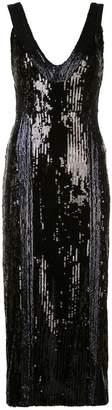 Galvan sequinned cocktail dress