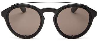 Givenchy Women's Brow Bar Round Sunglasses, 53mm