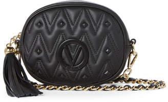 Mario Valentino Valentino By Black Arya Studded Tassel Crossbody