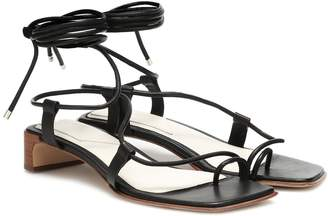 Rag & Bone Cindy Tie leather sandals