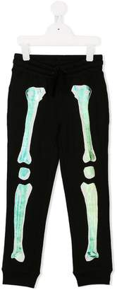 Stella McCartney skeleton bones track pants
