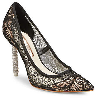 Sophia Webster Coco Crystal Lace Pumps