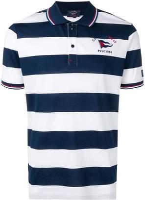 Paul & Shark striped polo shirt