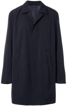 Giorgio Armani boxy lightweight coat