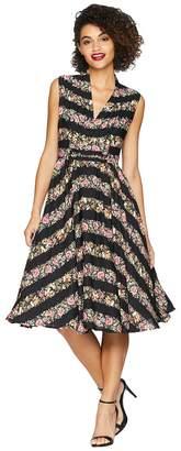 Unique Vintage De Carlo Swing Dress Women's Dress