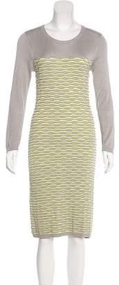 Yigal Azrouel Cut25 by Knit Midi Dress