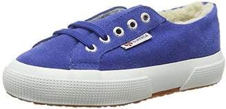 Superga Unisex Kids' 2750 Suebinj Low-Top Sneakers, (063 Blue Marine), 11 Child UK EU