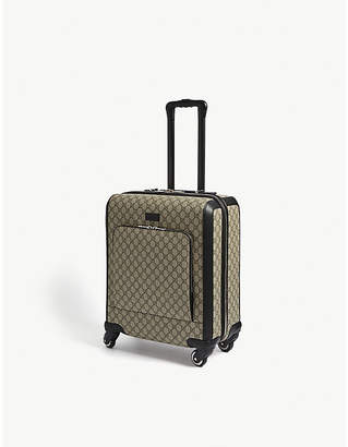 Gucci GG Supreme carry-on suitcase 51cm
