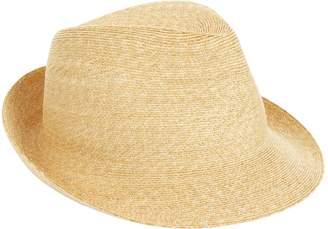 Philip Treacy Logo Pin Trilby Hat