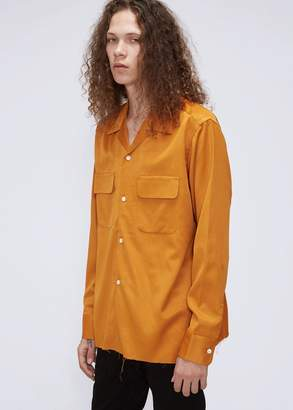 Needles Cut-Off Bottom Sateen Classic Shirt