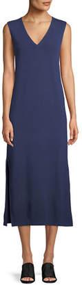 Rag & Bone Phoenix Sleeveless V-Neck Midi Dress