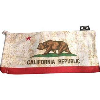 Oakley Microclear Microbag Sunglass Accessories - CA State Flag/