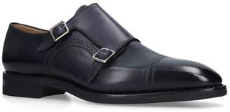 Bally Leather Monk Shoes