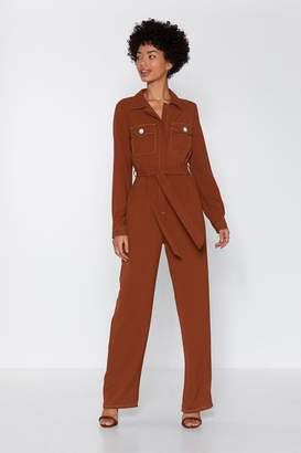 Nasty Gal Such a Stitch Utility Boilersuit
