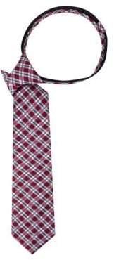 Lord & Taylor Boy's James Check Silk Tie