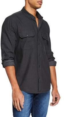 Hudson Men's Military Shirt