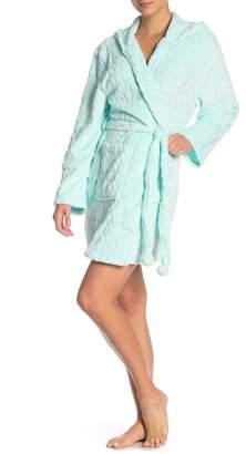 Couture PJ Aqua Snowy Dreams Hooded Robe