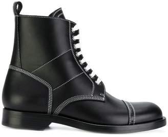 Loewe contrast stitch boots