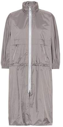 Prada Cropped-sleeve rain jacket