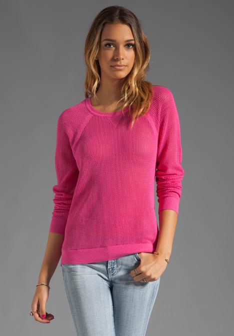 Sanctuary Fishnet Sweater