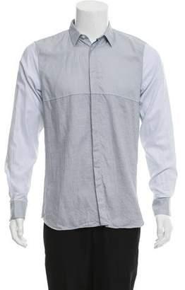 Calvin Klein Collection Woven Button-Up Shirt w/ Tags