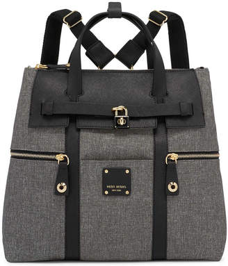 Henri Bendel Jetsetter Convertible Canvas Backpack