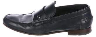 Gucci GG Leather Loafers