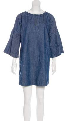 Apiece Apart Denim Shift Dress