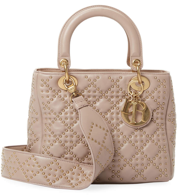 Dior Women's Studded Leather Satchel