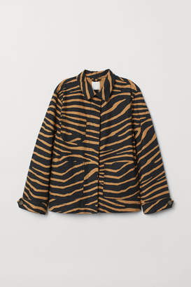 H&M Lightweight Cotton Jacket - Black