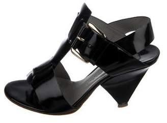 Chloé Leather T-Strap Sandals