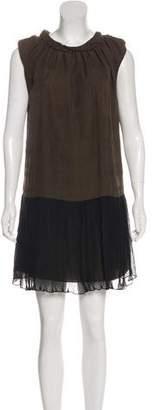 Marc by Marc Jacobs Sleeveless Silk Dress