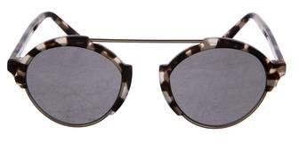 Illesteva Round Tinted Sunglasses