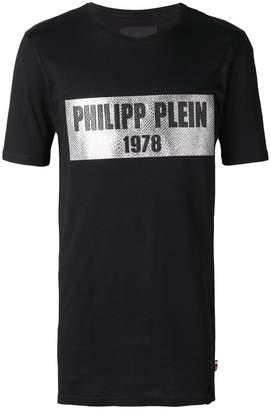Philipp Plein front logo T-shirt