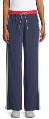 Joie Perlyn Silk Track Pants