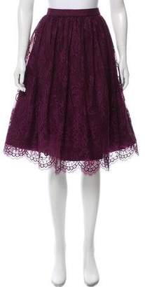 Alice + Olivia Lace A-line Skirt w/ Tags