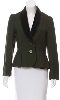Givenchy Peplum Wool Jacket