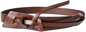 Max Studio natural cut loop belt