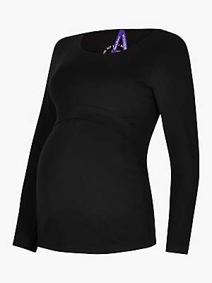 Séraphine Laina Long Sleeve Nursing Maternity Top