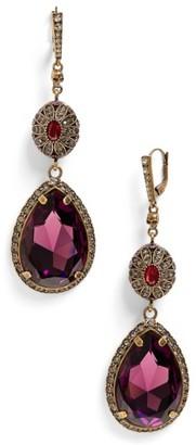 Women's Alexander Mcqueen Double Drop Earrings $795 thestylecure.com