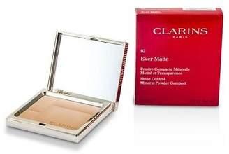 Clarins NEW Ever Matte Shine Control Mineral Powder (# 02 Transparent Med)