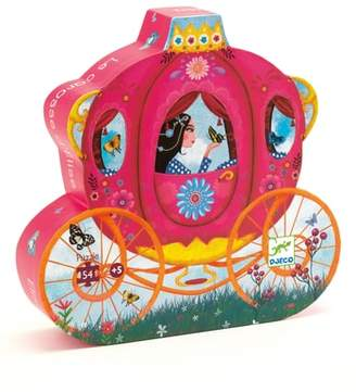 Djeco Silhouette Puzzles Elise's Carriage 54-Piece Puzzle